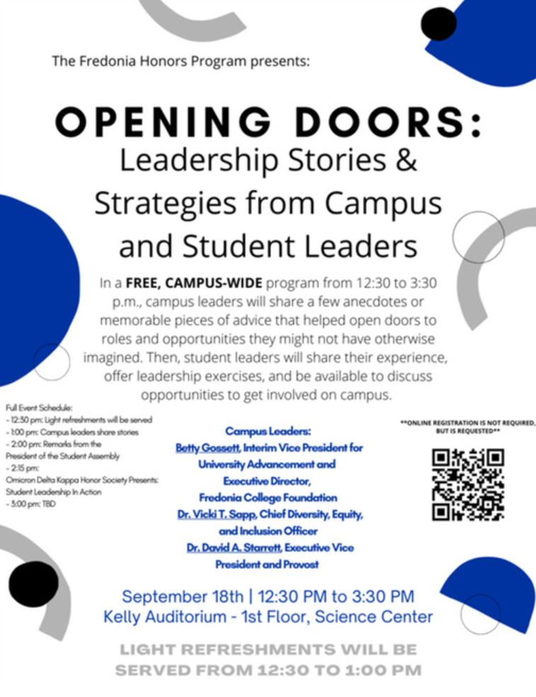 Opening Doors poster