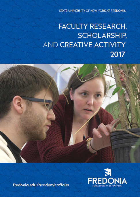 Report: Faculty Research, Scholarship, And Creative Activity 2017