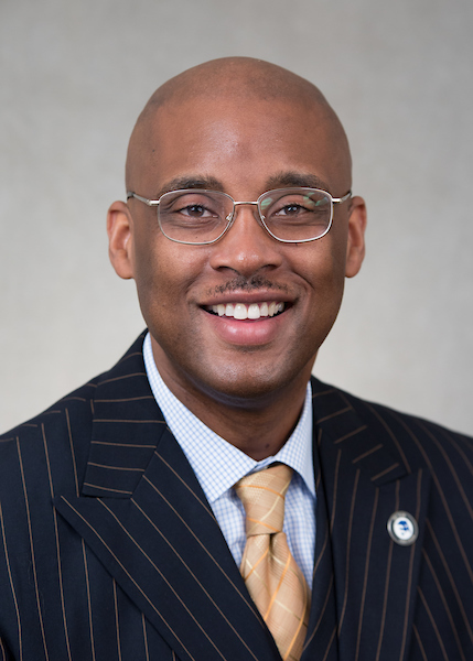Photo of Dr. Cedric Howard VP for ESS