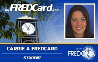 Fredcard front