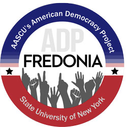 logo for American Democracy Project