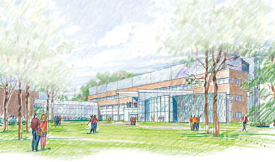 Science Center drawing
