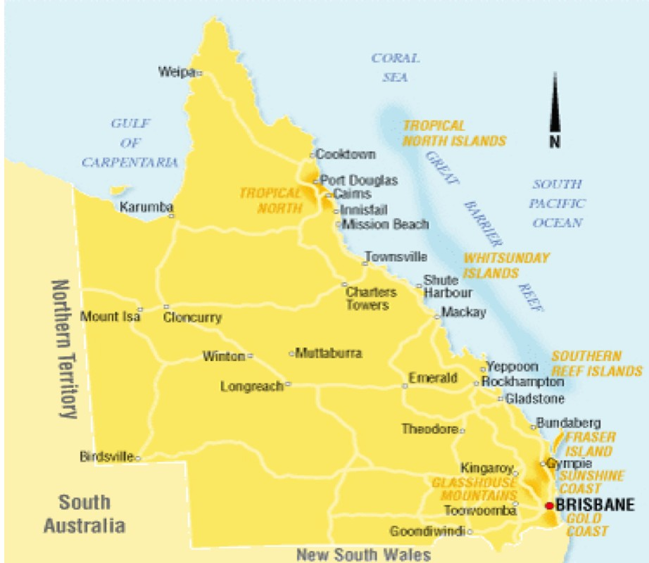 Map Of Australia For Students.International Student Teaching Opportunities Student Teaching In