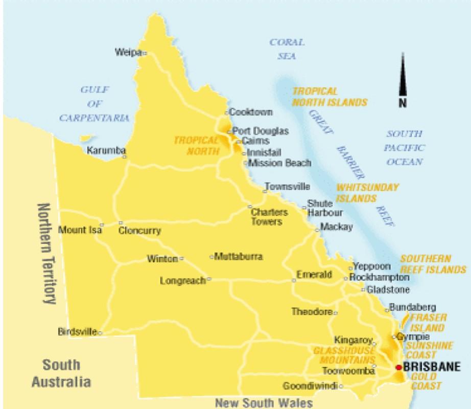 Map Of Australia For Students.International Student Teaching Opportunities Student Teaching In