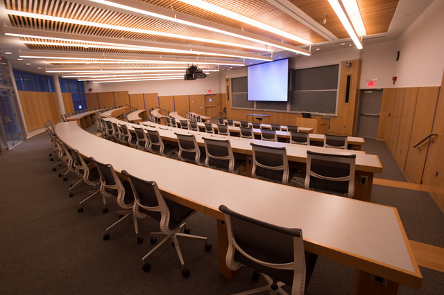 Science Center lecture hall, room 105