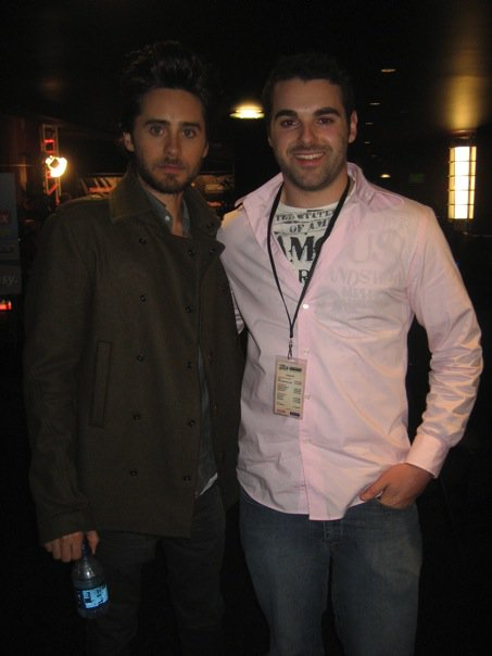 Jared Leto and Brent McConnell