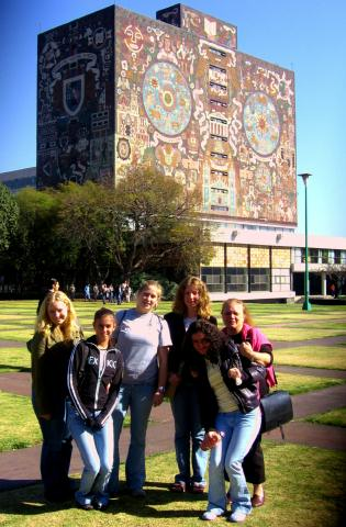 Students at Mexican University