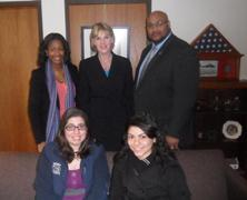 NYS Senator Catharine Young met with Fredonia's EDP group