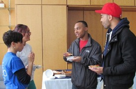 EDP alums Dior and Ricardo talk with Ms. Skemer & Margie