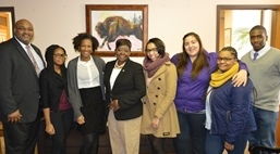 Fredonia group with Assemblywoman Crystal Peoples-Stokes