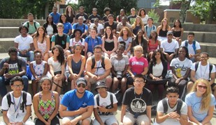 2015 JEWEL first-year students and peer advisors