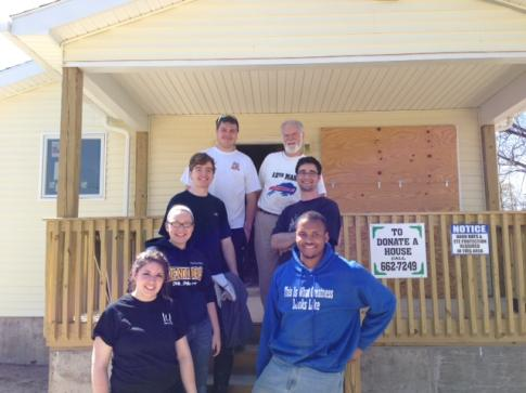 Habitat for Humanity Service Project