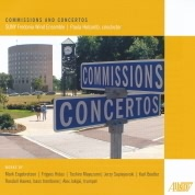 Fredonia Wind Ensemble CD - Comissions and Concertos