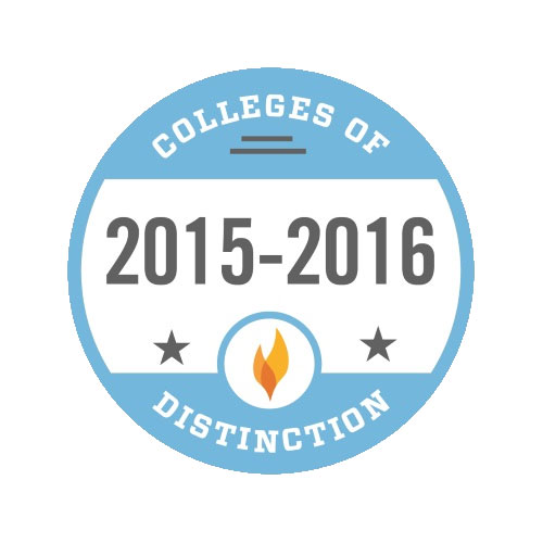 Colleges of Distinction 2015-2016 Badge