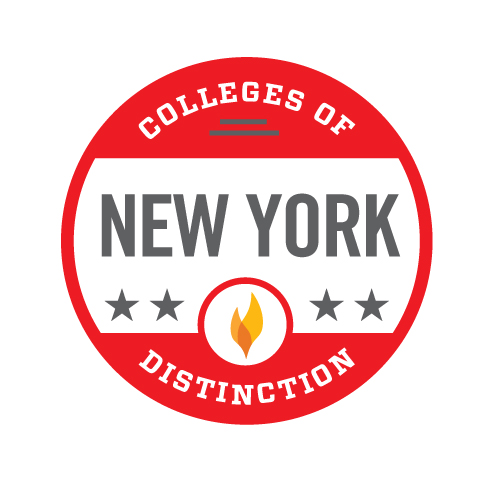 New York Colleges of Distinction Badge