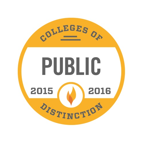 Colleges of Public Distinction 2015-2016 Badge