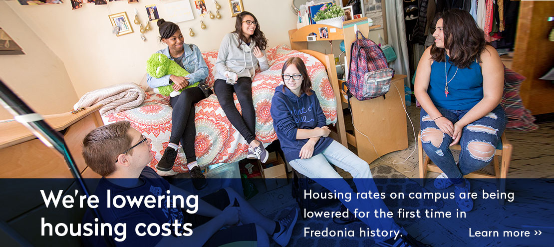 Housing rates are being lowered for the first time.