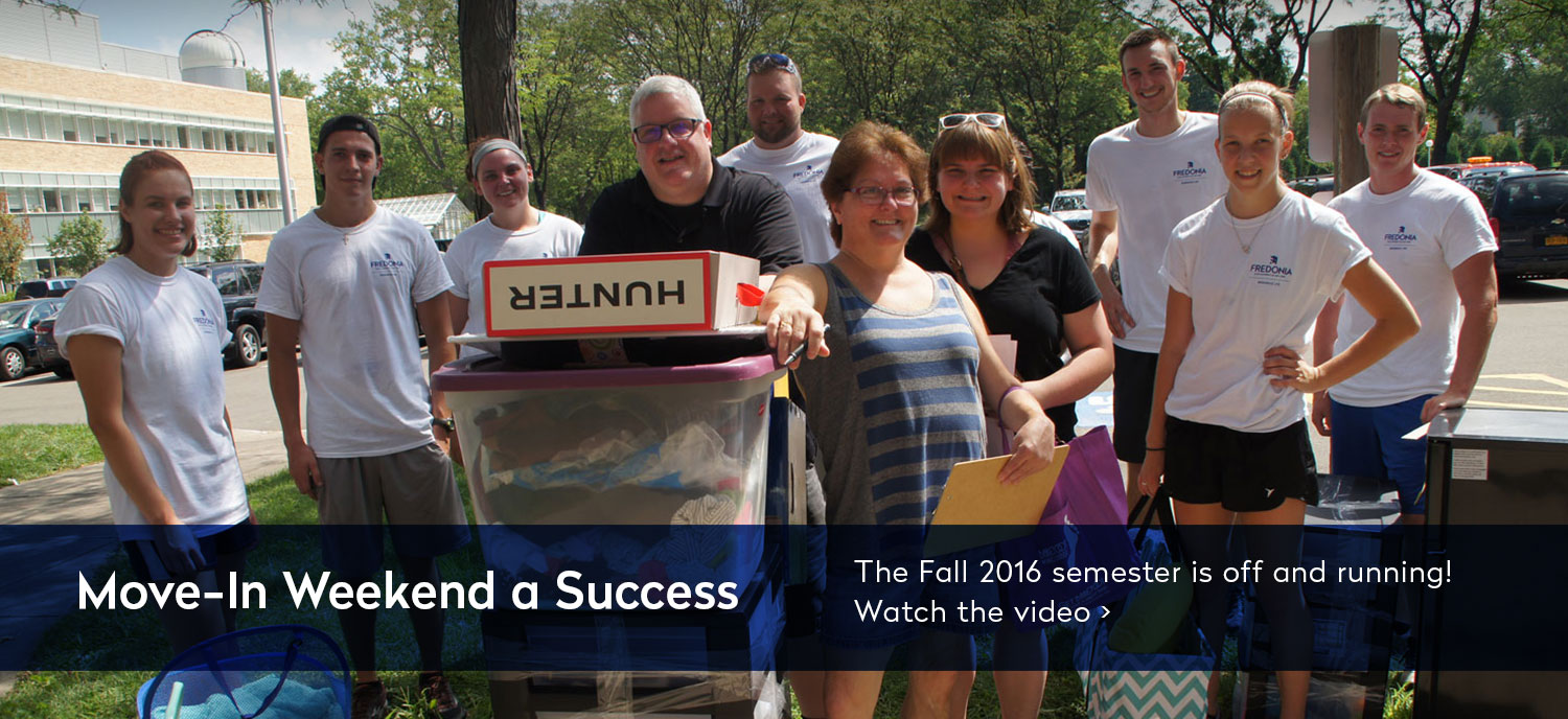 Move-In Weekend A Success