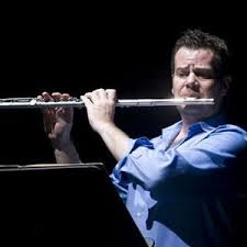 flutist Barry Crawford