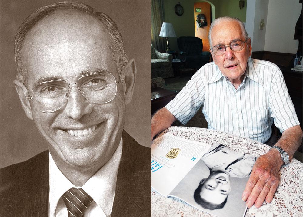 Douglas Manly and Lester Bishop World War II veterans