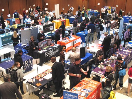 Graduate School Fair - MPR in Williams Center