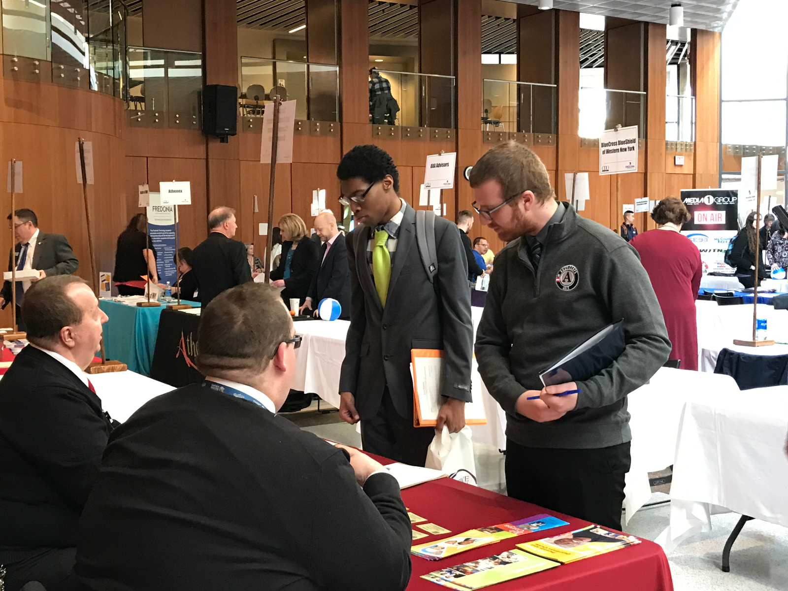 The Job & Internship Expo is a great way to talk to employers directly