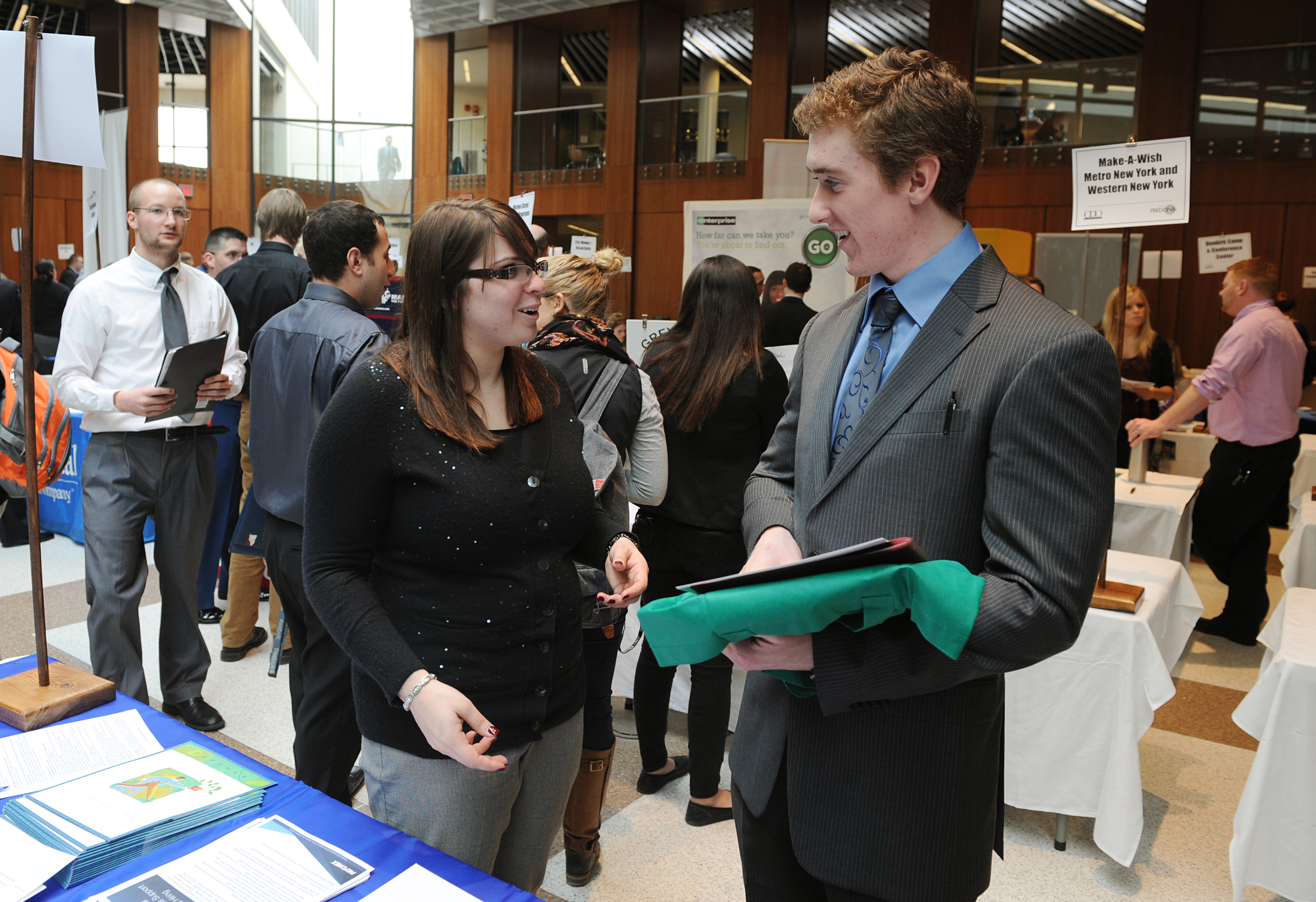 Our Job and Internship Expo is a great way to talk to students directly