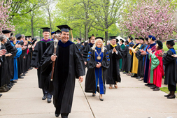 Faculty processional 2015