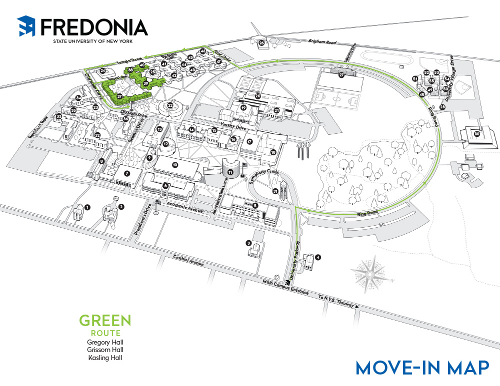 Move-in Map - Green