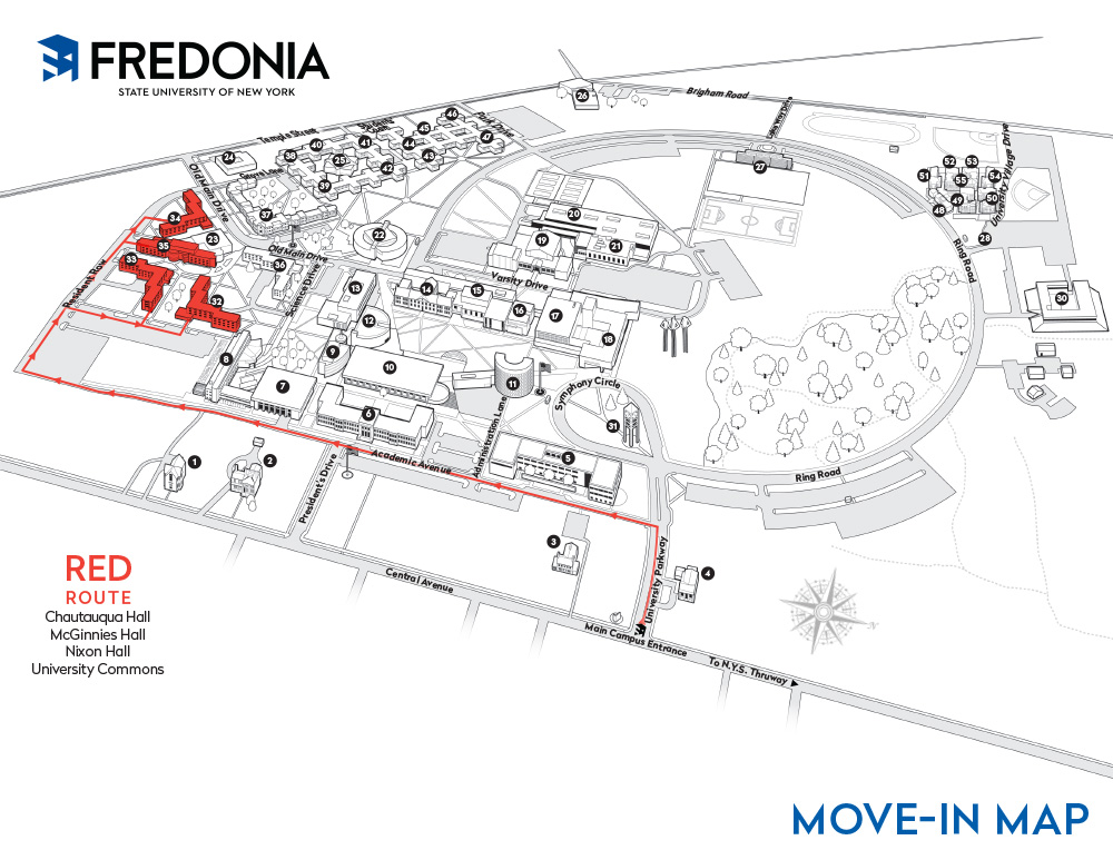 Move-in Map - Red