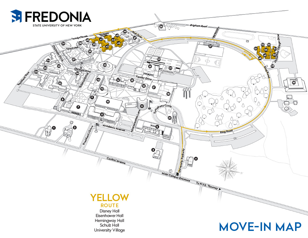 Move-in Map - Yellow