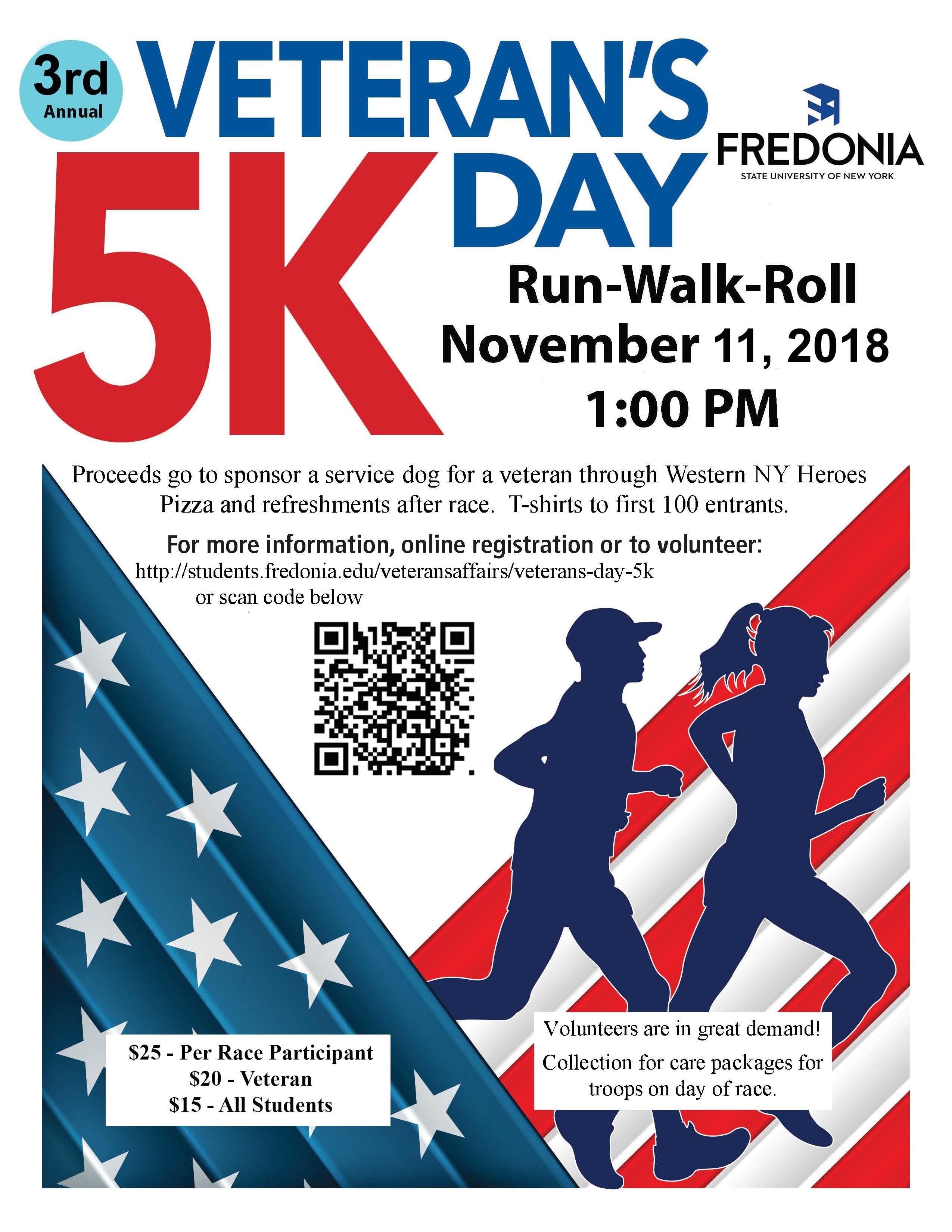veterans day 5k | fredonia.edu