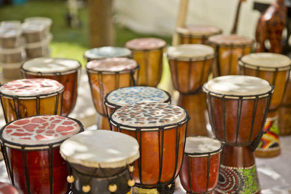 photo of African drums