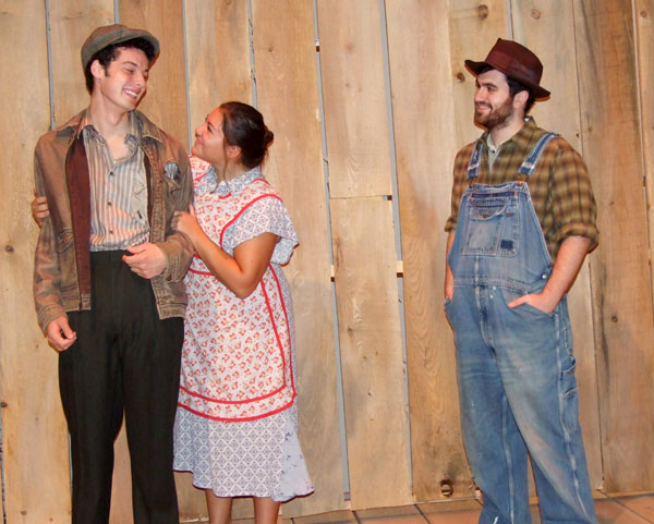 Cast members in Grapes of Wrath