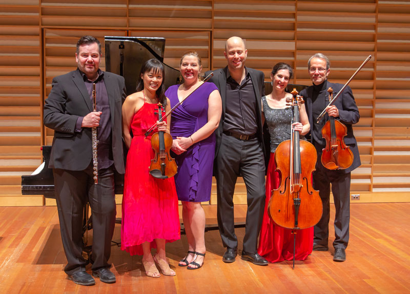 School of Music faculty group