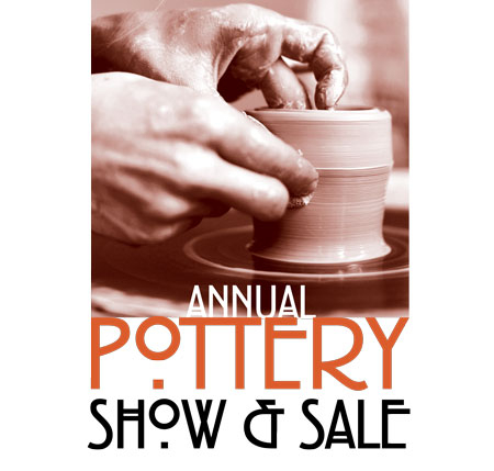 pottery sale poster