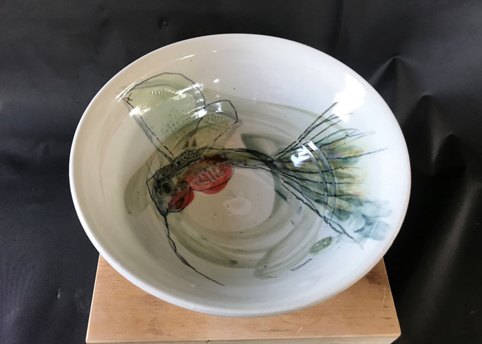 bowl by Reno Pottery