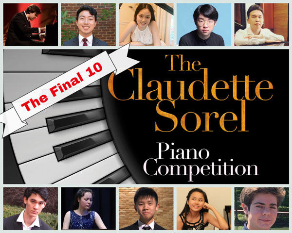 Sorel competition finalists