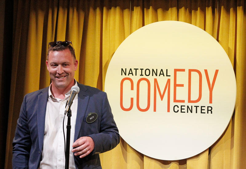 photo of Rich Ryan at the National Comedy Center