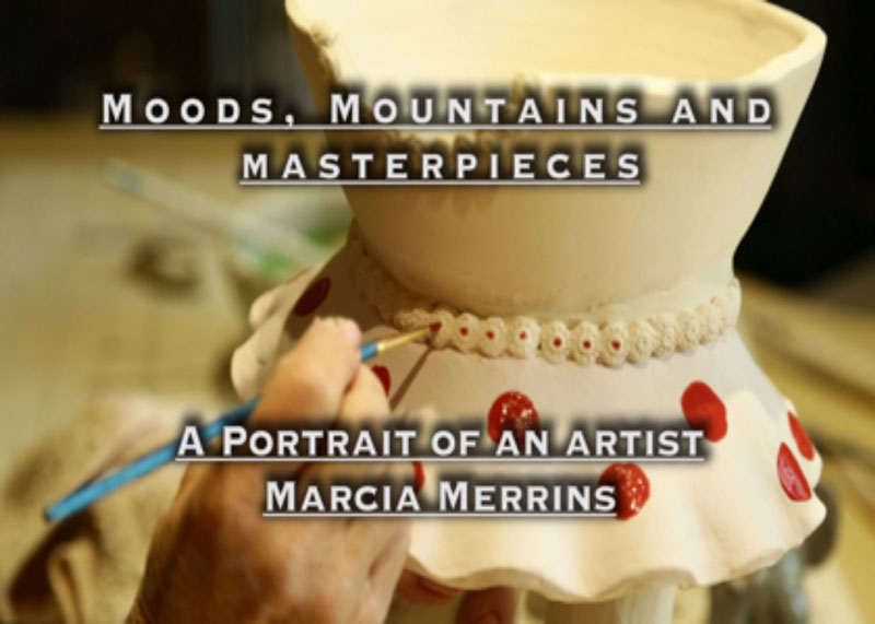 art for poster to publicize movie by Roslin Smith about Marcia Merrins