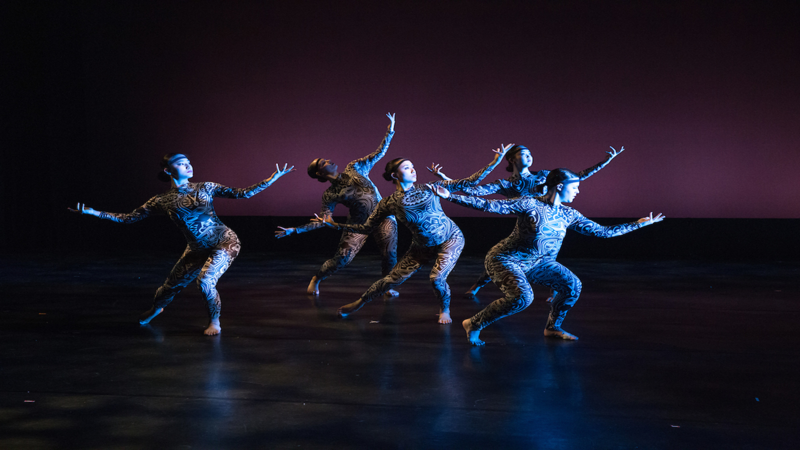 Dance ensemble performs in Rockefeller Arts Center