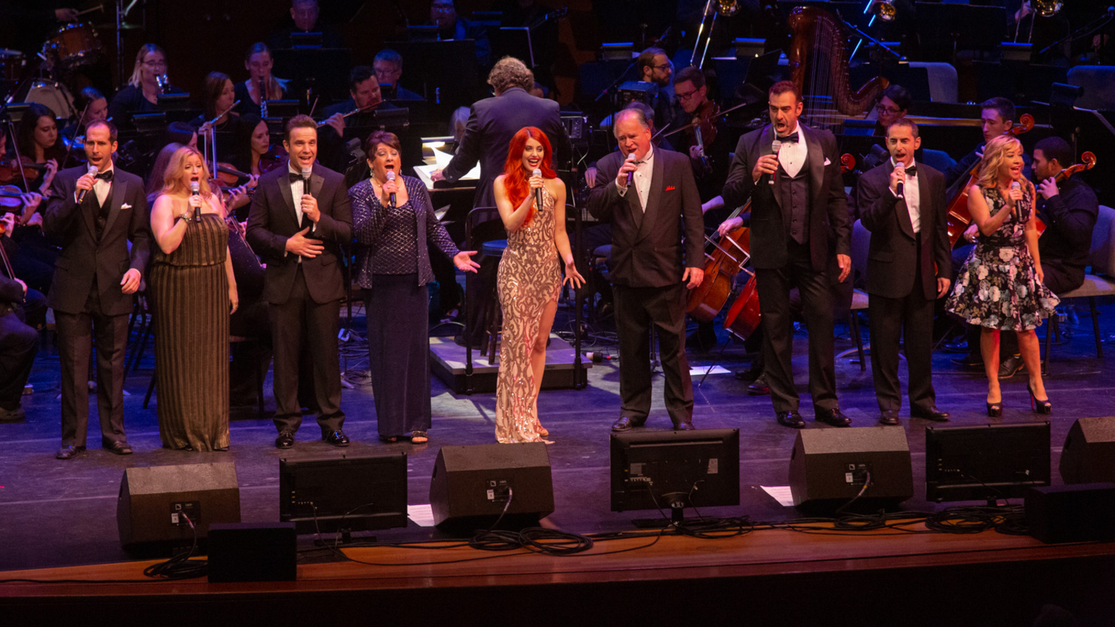 The finale of the 50th Anniversaru Gala Pops Concert