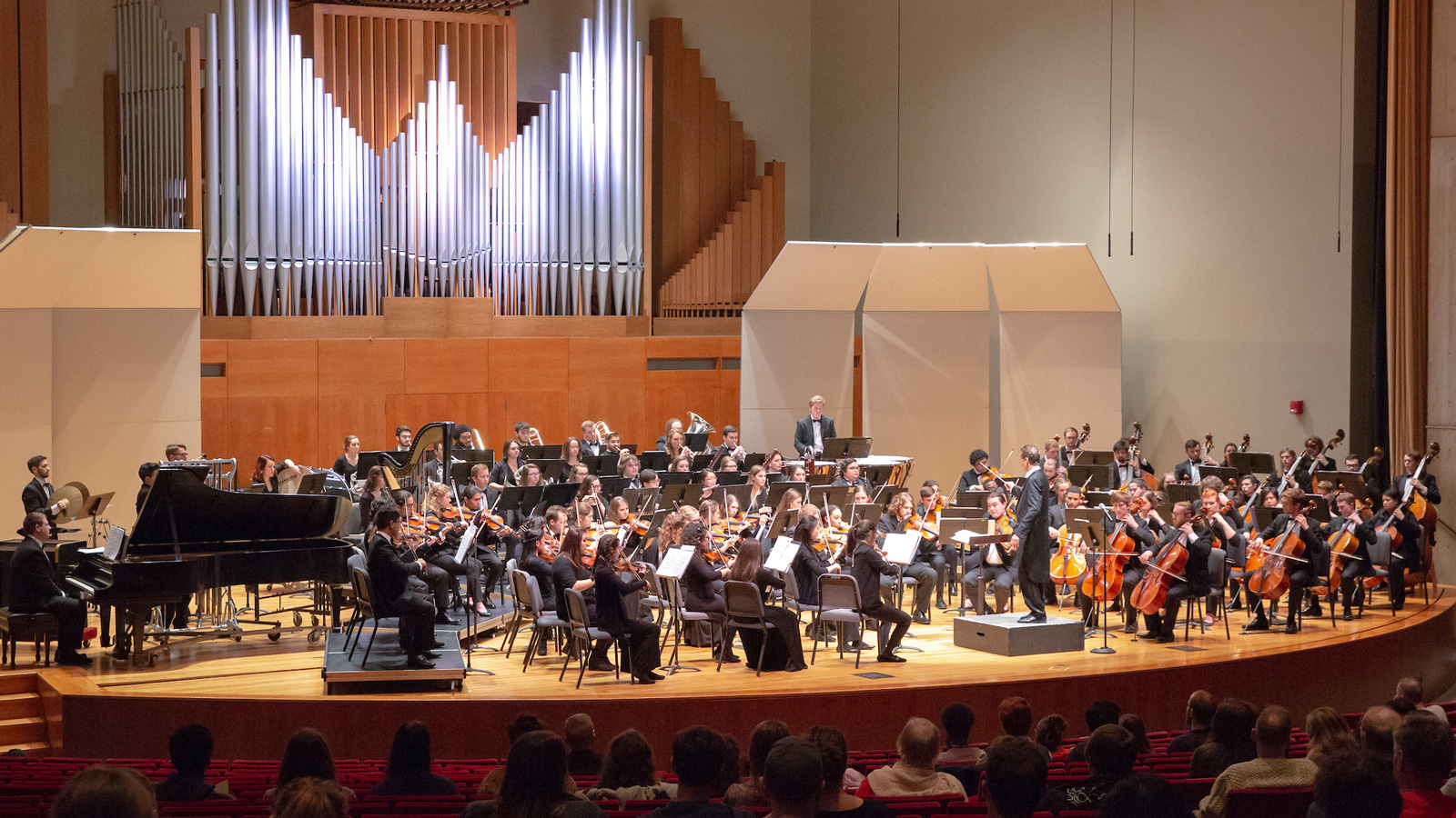 College Symphony Orchestra in King Concert Hall