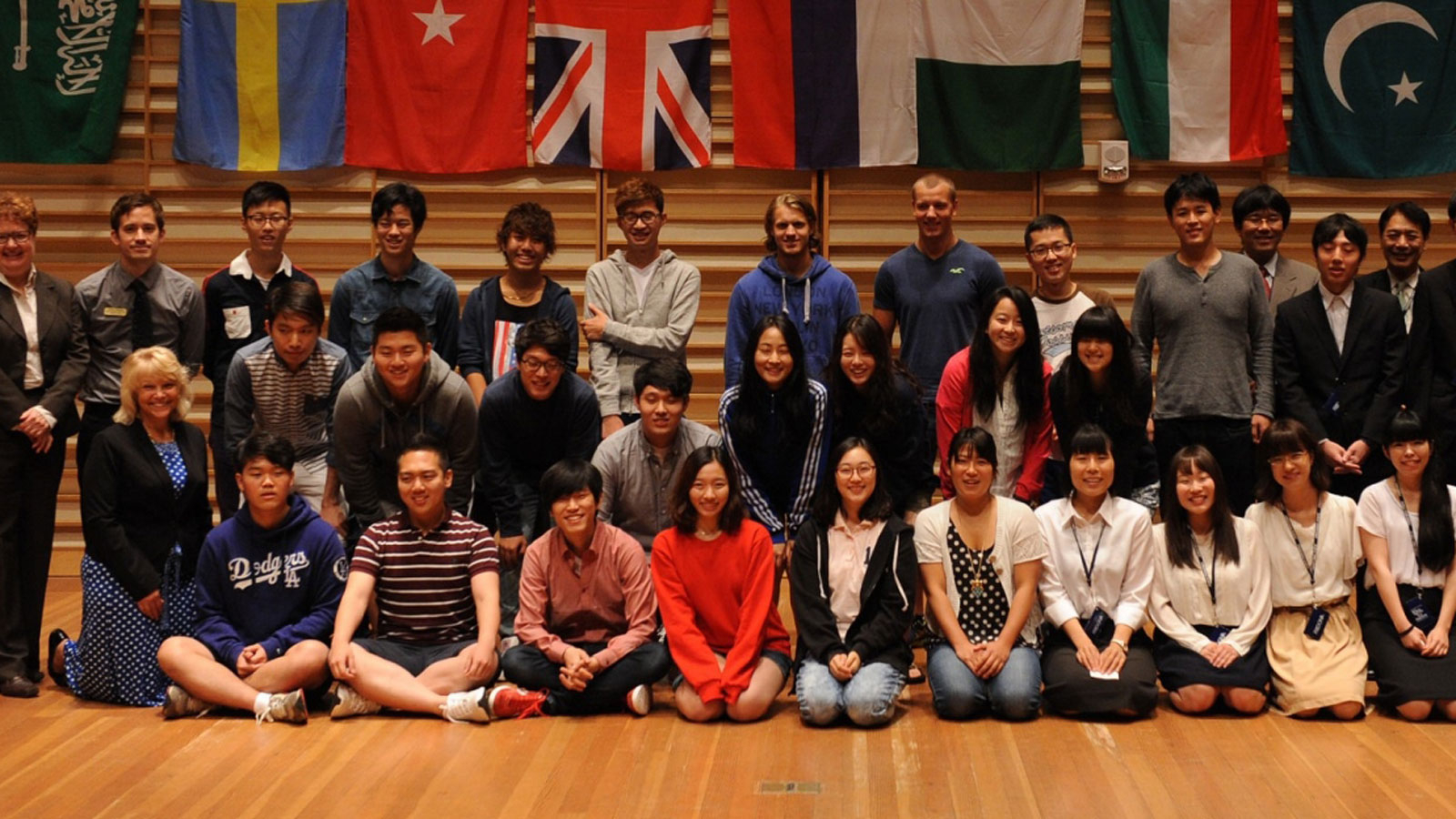 International Students Welcomed