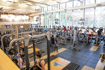 Blue Devil fitness center