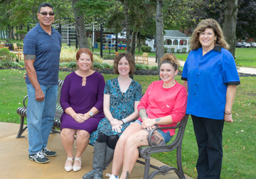 Recipients of the 2018 Outstanding Administrative Service Awards