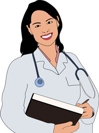 art of a woman physician