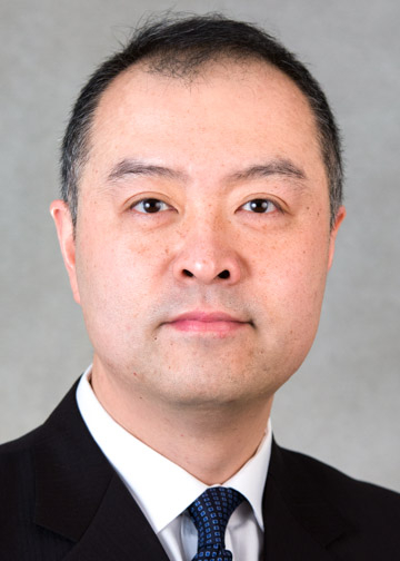 Dr. Lei Huang, professor in the School of Business
