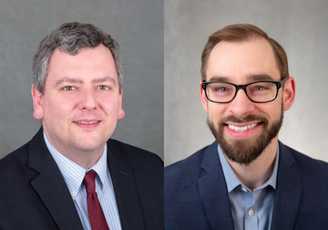Drs. Vernon Huff and Nick Weiser