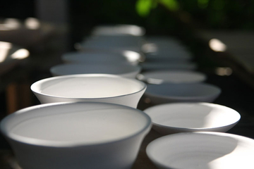 photo of empty bowls